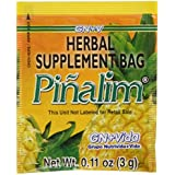 Pinalim Tea/Te de Pinalim Mexican Version- Pineapple, Flax, Green Tea, & White Tea - 30 Day Supply