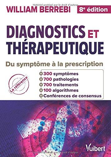 Diagnostics et thépeutique ( WILLIAM BERREBI) 51zJnSstMJL