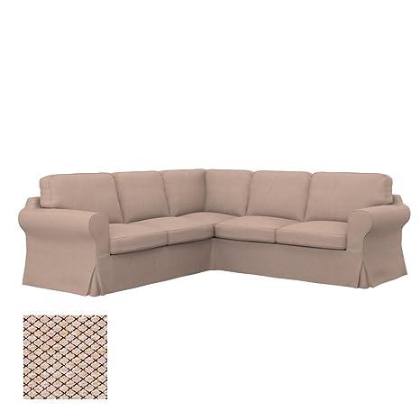 Soferia - IKEA EKTORP Funda para sofá Esquina 2+2, Nordic ...