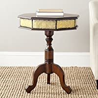 Safavieh American Homes Collection Daphne Dark Brown Side Table