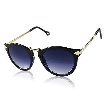 WW Frauen-Sonnenbrille Pfeile Metall-Sonnenbrille , D,D