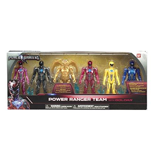 Bandai- Figurine-power Rangers-lot De 6, 97677