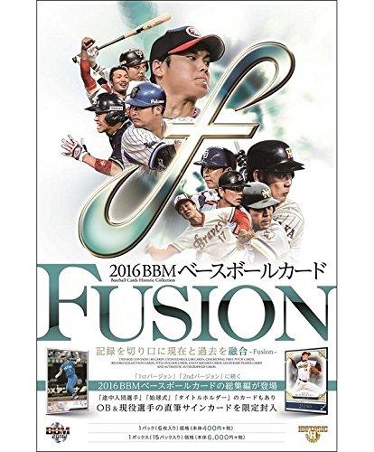 BBM ベースボールカード FUSION 2016 BOX