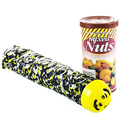 Prank Stuff – Pranks and Gags – Snake in a Can of Nuts Prank – Practical Joke – Prank Kit by Funny Party Hats