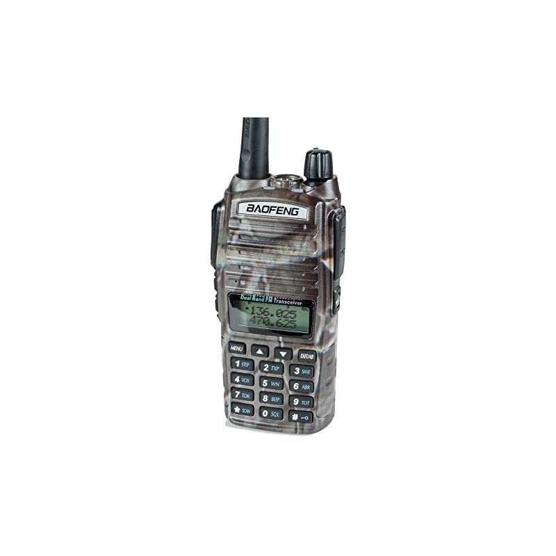 BaoFeng UV-82HP (CAMO) High Power Dual B