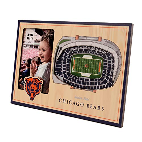 NFL Chicago Bears 3D StadiumViews Picture Frame