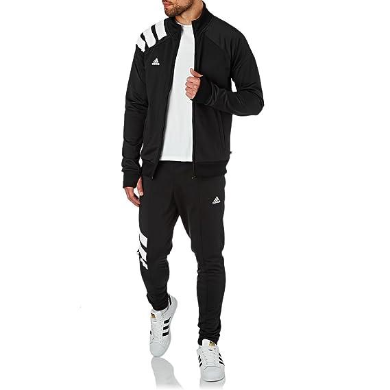 Vêtements Gilets adidas Bq0390 Veste Homme Football Sports