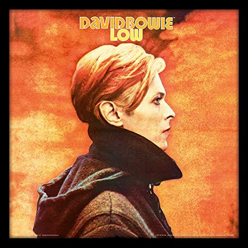 David Bowie Low Framed Classic Album Sleeve Memorabilia, Multi-Colour,12-Inch Pyramid International ACPPR48153