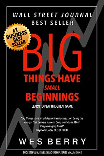 Big Things Have Small Beginnings by Wes Berry ebook deal