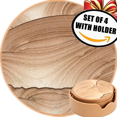 enkore-stone-coasters-in-holder-keep-furniture-safe-from-damage-by-excess-cold-condensation-moisture