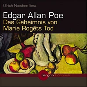 Das Geheimnis von Marie Rogêts Tod Hörbuch