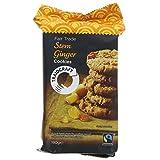 Traidcraft Stem Ginger Cookies 180g (Pack of 8)