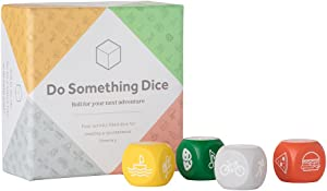 W&P Do Something Dice, Decision Dice, Activity Game Filled Dice, Roll For Your Next Adventure