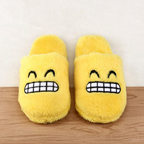 Sunfei Unisex Cute Cartoon Slippers Warm Cozy Soft Stuffed Household Indoor Shoes E uBLnkEqr1G