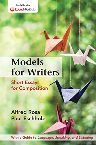Models for Writers: Short Essays for Composition, High School Version Pdf