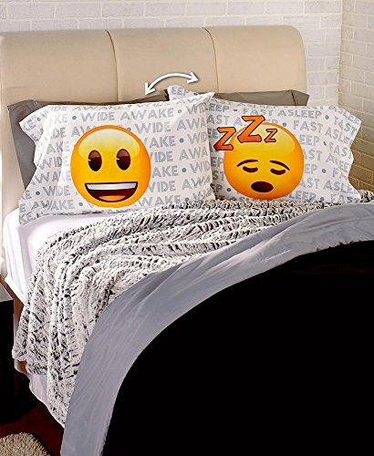 The Lakeside Collection 2 Pk. Emoji Pillowcases
