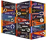 NFL Mini Pennant Set ~ Complete sef of 32 Pennant Banner Flags