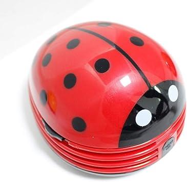 Antrygobin Mini Ladybug - Aspiradora de Escritorio: Amazon.es ...