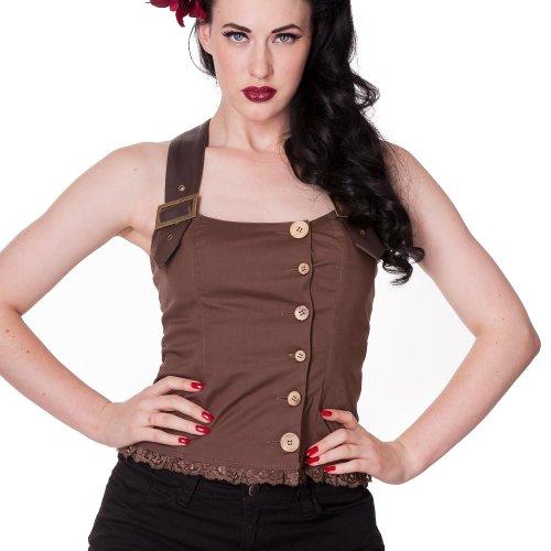 Spin Doctor - Camiseta sin mangas - para mujer marrón