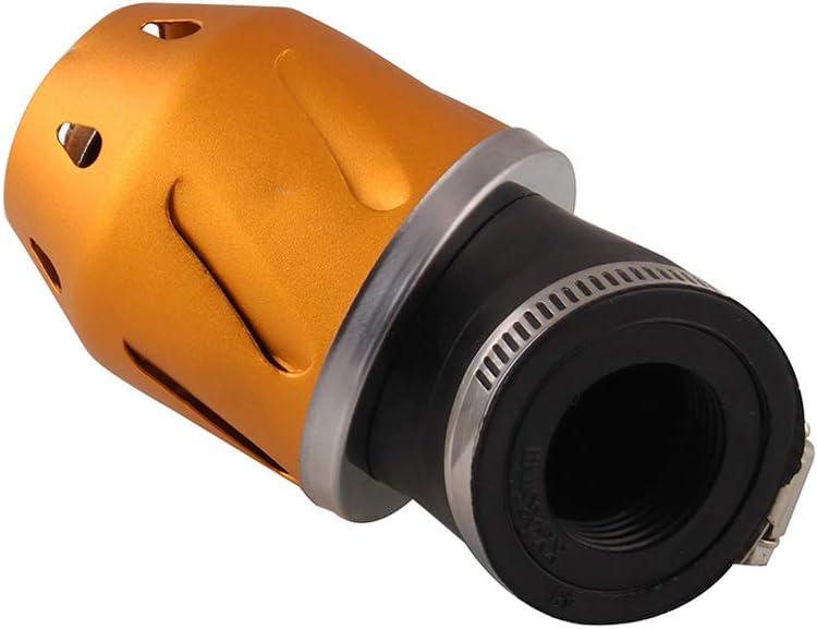 BONNIO Flux de Puissance de Tuyau en Aluminium d/épurateur dair de Filtre dadmission dair de Voiture de Moto Universelle