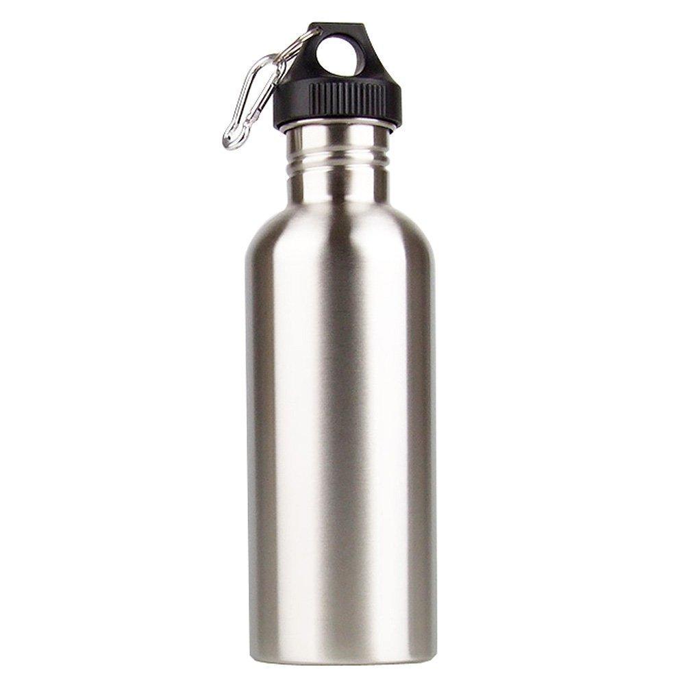 Wasserflasche - SODIAL(R) 1000ml Trinkwasser Flasche Outdoor Sports Breiter Mund fuer Camping Radfahren