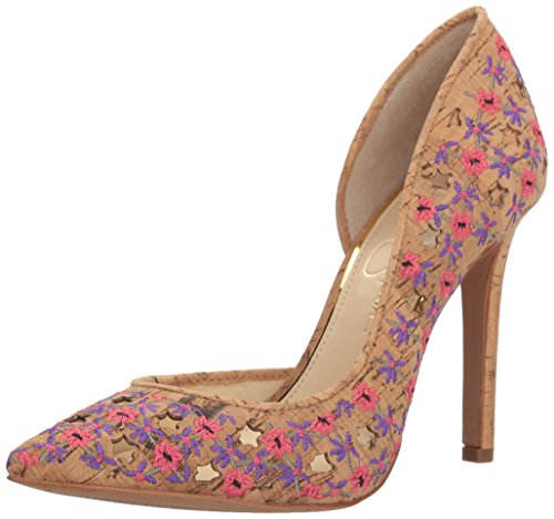Jessica+Simpson+Women%27s+Claudette+Pump%2C+Pink%2FMulti%2C+6.5+Medium+US