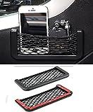 japanese car wax - AMAZZANG-1PCS Auto Car Vehicle Storage Mesh Resilient String Bag Holder Pocket Organizer