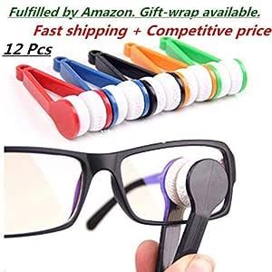 Amazon.com : 12 Pcs Mini Sun Glasses Eyeglass Microfiber