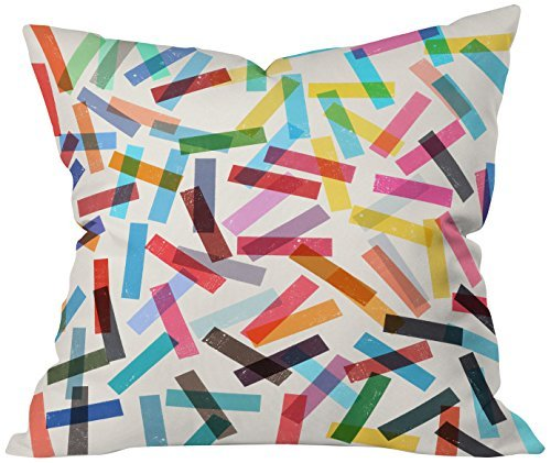 Deny Designs Garima Dhawan Fiesta 2 Throw Pillow, 18 x 18 [並行輸入品]   B075VJM8BV