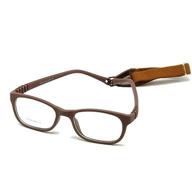 aeb3fd8306fd EnzoDate Flexible Kids Eyeglasses Frame Size 44/16 TR90 Children Glasses:  Amazon.in: Clothing & Accessories