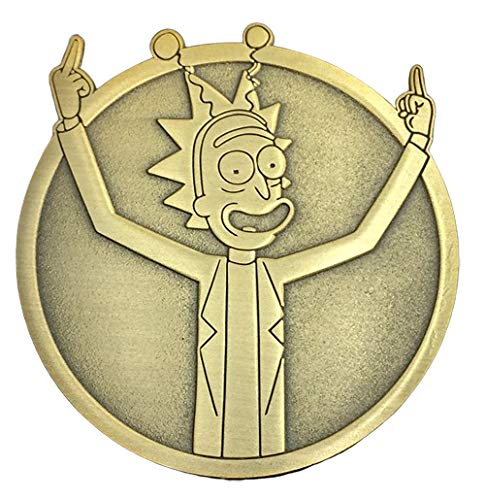 Golden Peace Among Worlds: Rick - Collectible Pin