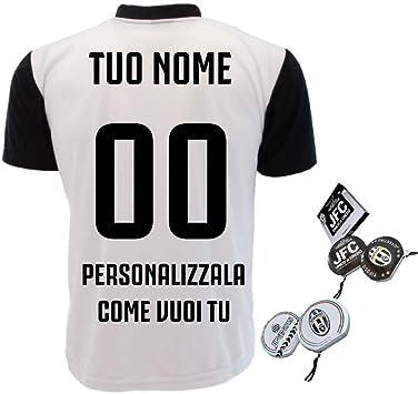 T-Shirt Juventus Camisa Juve Personalizada Replica 2018/2019 PS 27400 (2 año): Amazon.es: Deportes y aire libre