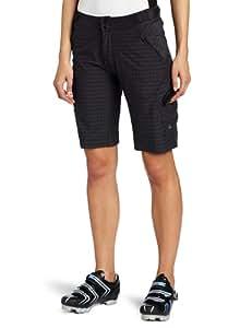 Zoic Women's Navaeh Mountain Bike Shorts with RPL Liner (Black Plaid, X-Small)