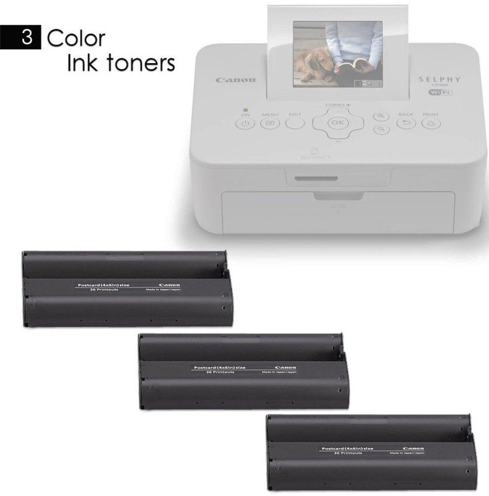 Impresora Wifi de fotos Canon Selphy CP1200 a color + ...