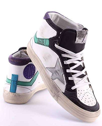 Zapatos Hombres Sneakers GOLDEN GOOSE 2.12 G26U599.E2 White Water ITA Nuevo New