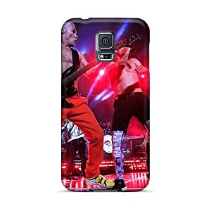 Samsung Galaxy S5 YpI11428QMUq Provide Private Custom Colorful Red Hot Chili Peppers Series Durable Cell-phone Hard Covers -SherieHallborg