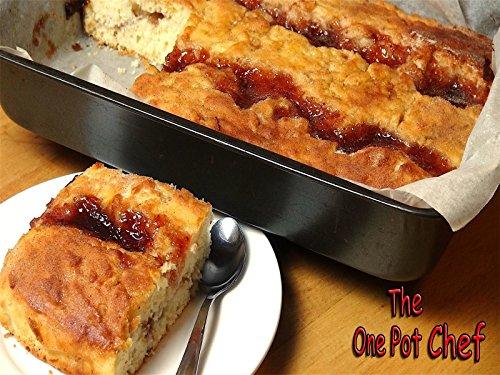 - Jam Donut Tray Bake