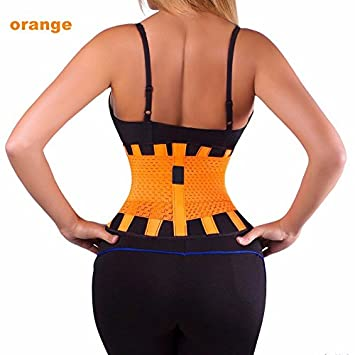 a37691e630717 Wrone (TM) 2016 Best Elastic Girdle Back Support Belt Posture Brace Back  Support Belts Lumbar Support Back Pain Inflatable  Amazon.co.uk  Sports    Outdoors