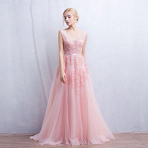 Vimans Damen A-Linie Kleid Rose OKjj6G