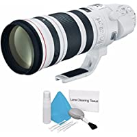 Canon EF 200-400mm f/4L IS USM Lens (International Model no Warranty) + Deluxe Cleaning Kit 6AVE Bundle 1