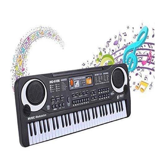 Hipzop,New 61 Touches de musique numérique Clavier électronique Clavier électrique Cadeau Piano cadeau