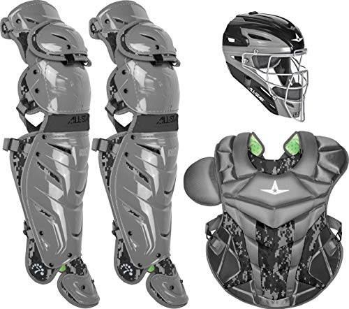 All-Star Adult System7 Axis Digi Camo Pro Catcher's Set