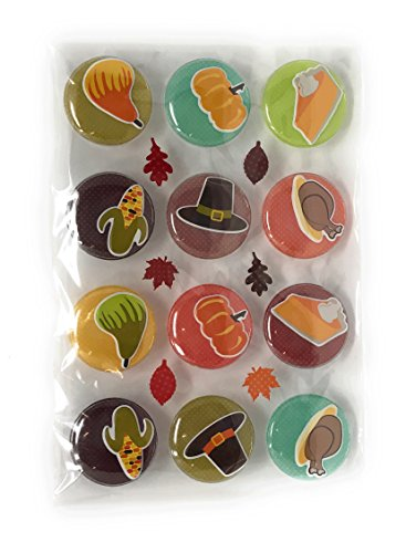 - Nantucket Home Fall Harvest Icon Puffy Stickers