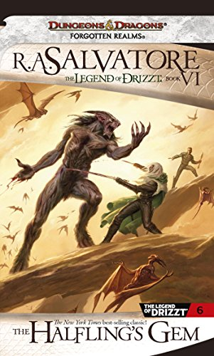 The Halfling's Gem: The Legend of Drizzt, Book VI