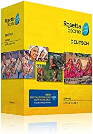 Rosetta Stone German Level 1-5 Set
