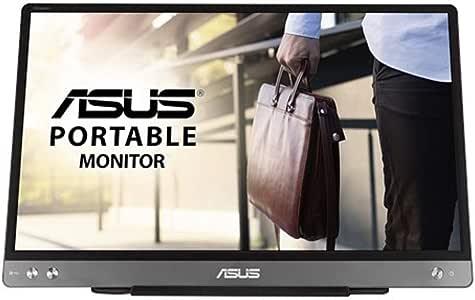 ASUS ZenScreen MB14AC - Monitor USB portátil (14 Pulgadas, IPS Full HD, solución de señal híbrida, USB Tipo C, sin Parpadeo, Filtro de luz Azul, Superficie antideslumbrante): Amazon.es: Informática