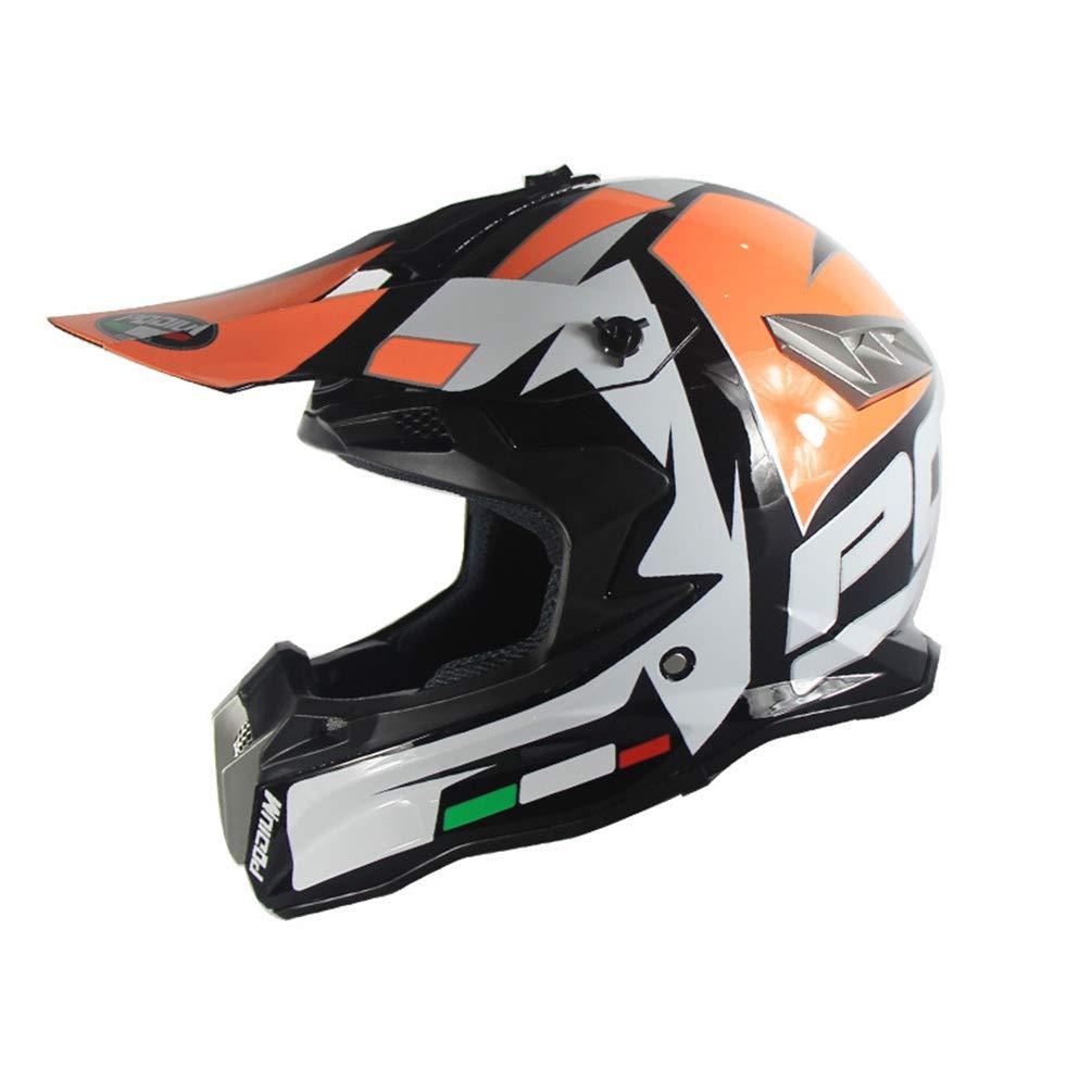 Qianliuk Motobike Helm Motorrad ROT Bull Cross Country Helme Herren Mountainbike dh Helme
