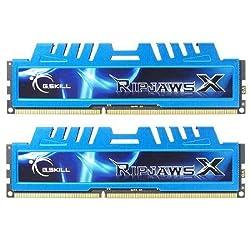 G.SKILL Ripjaws X Series 16GB (2 x 8GB) 240-Pin DDR3 SDRAM 1600 (PC3 12800) Desktop Memory F3-1600C9D-16GXM