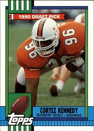 Amazoncom 1990 Topps Football Rookie Card 334 Cortez