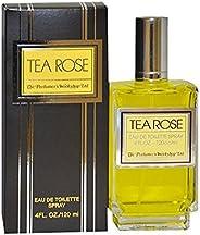 Tea Rose by Perfumers Workshop for Women - 4 oz EDT Spray